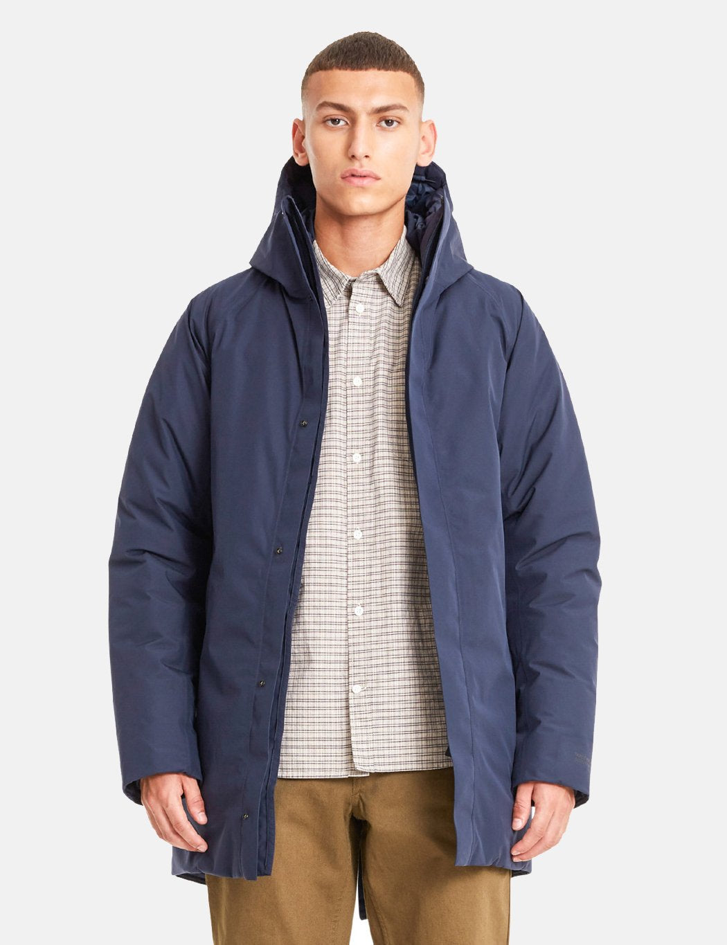 Norse Projects Rokkvi 4.0 Gore Tex Jacke - Dark Navy