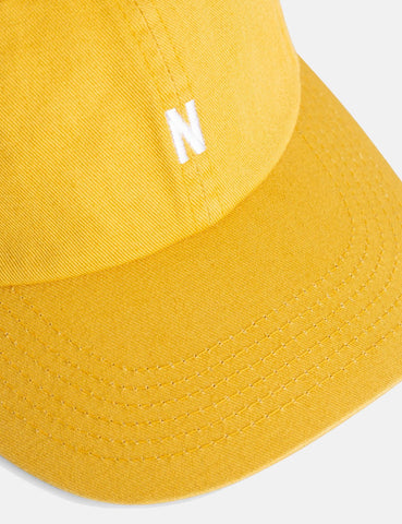 Norse Projects Twill Sport Cap - Montpellier Gelb