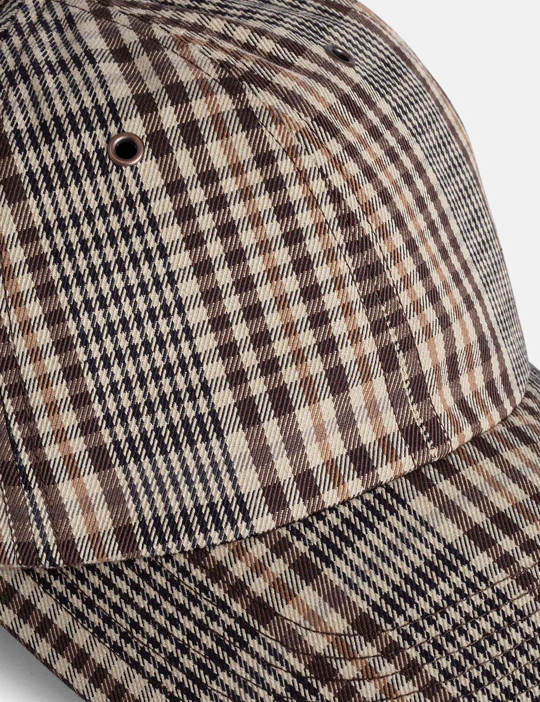 Norse Projects Compact Twill Sport Cap - Beige / Braun prüfen