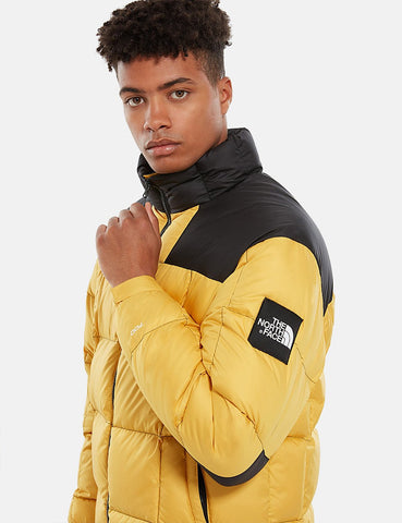 North Face Lhotse 'Black Label' Down Jacket - Bambus-Gelb