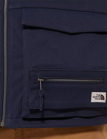 North Face Wilde Weste - Urban Marineblau