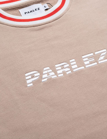 Parlez Taberly Crew Neck Sweatshirt - Sand