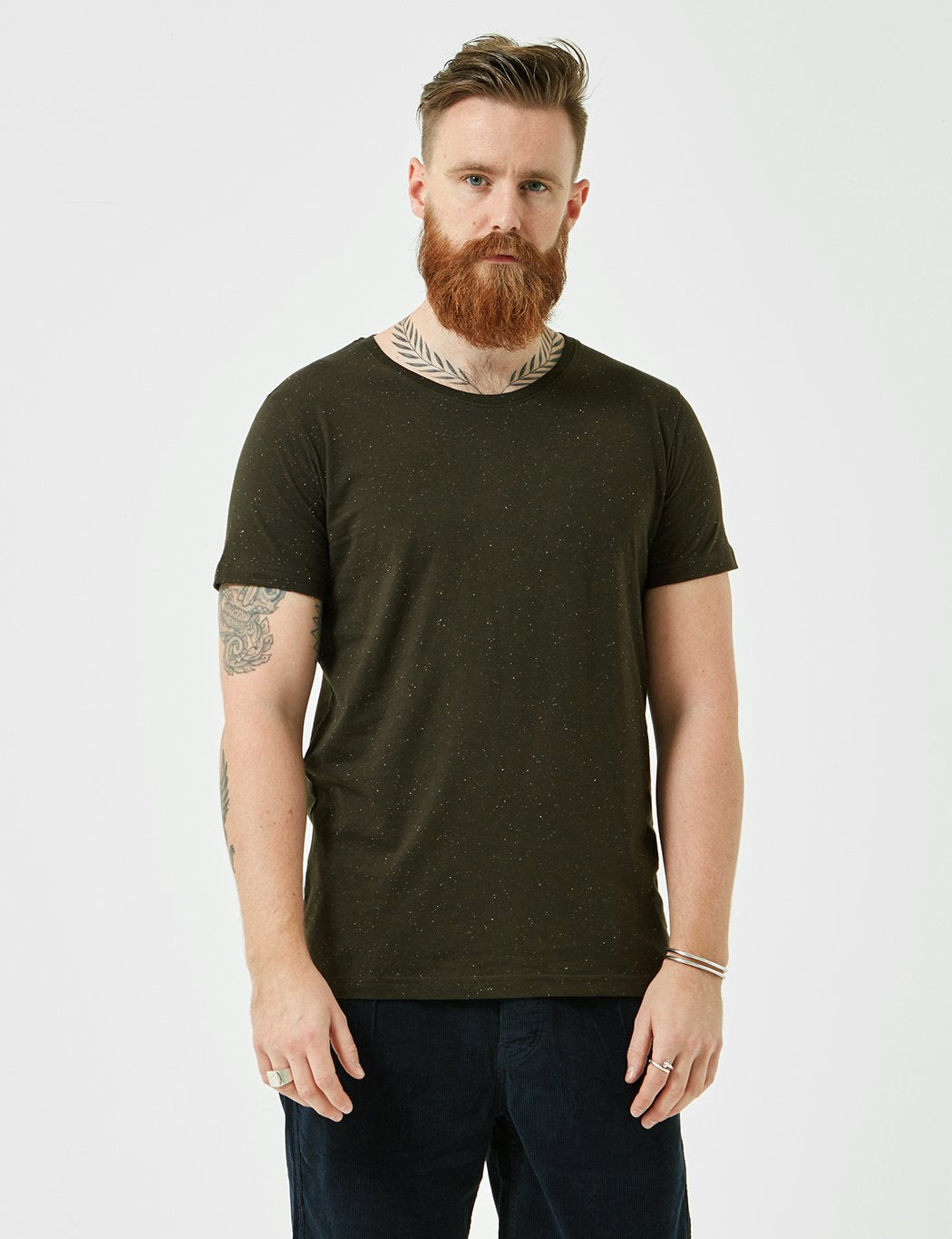 Suit Broadway T-Shirt - Very Dark Green
