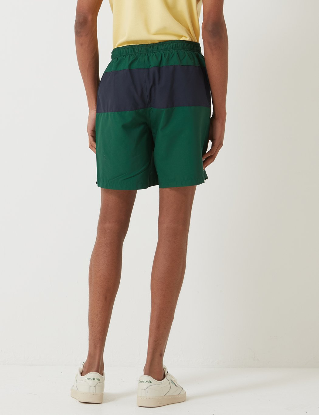 Fred Perry Panelled Badeshorts - Ivy
