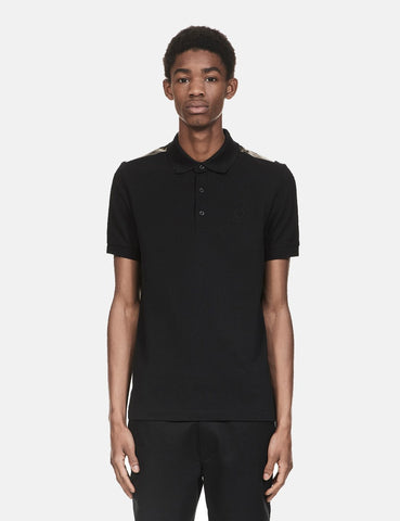 Fred Perry x Raf Simons Band-Detail-Polo-Hemd - Schwarz