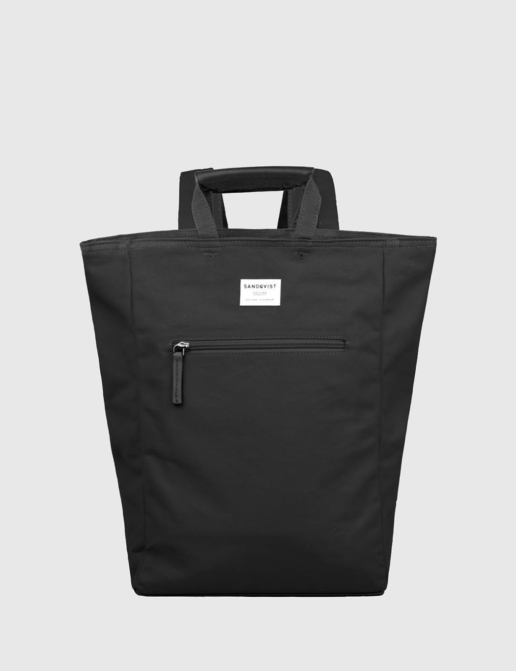 Sandqvist Tony Tote Bag (Canvas) - Black