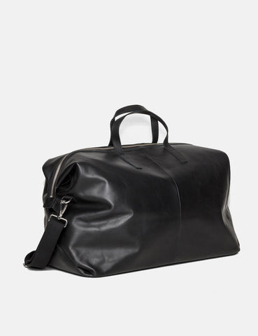 Sandqvist Damien Weekend Bag (Leder) - Schwarz