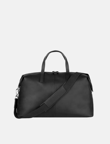 Sandqvist Holly Weekend Bag (Leder) - Schwarz