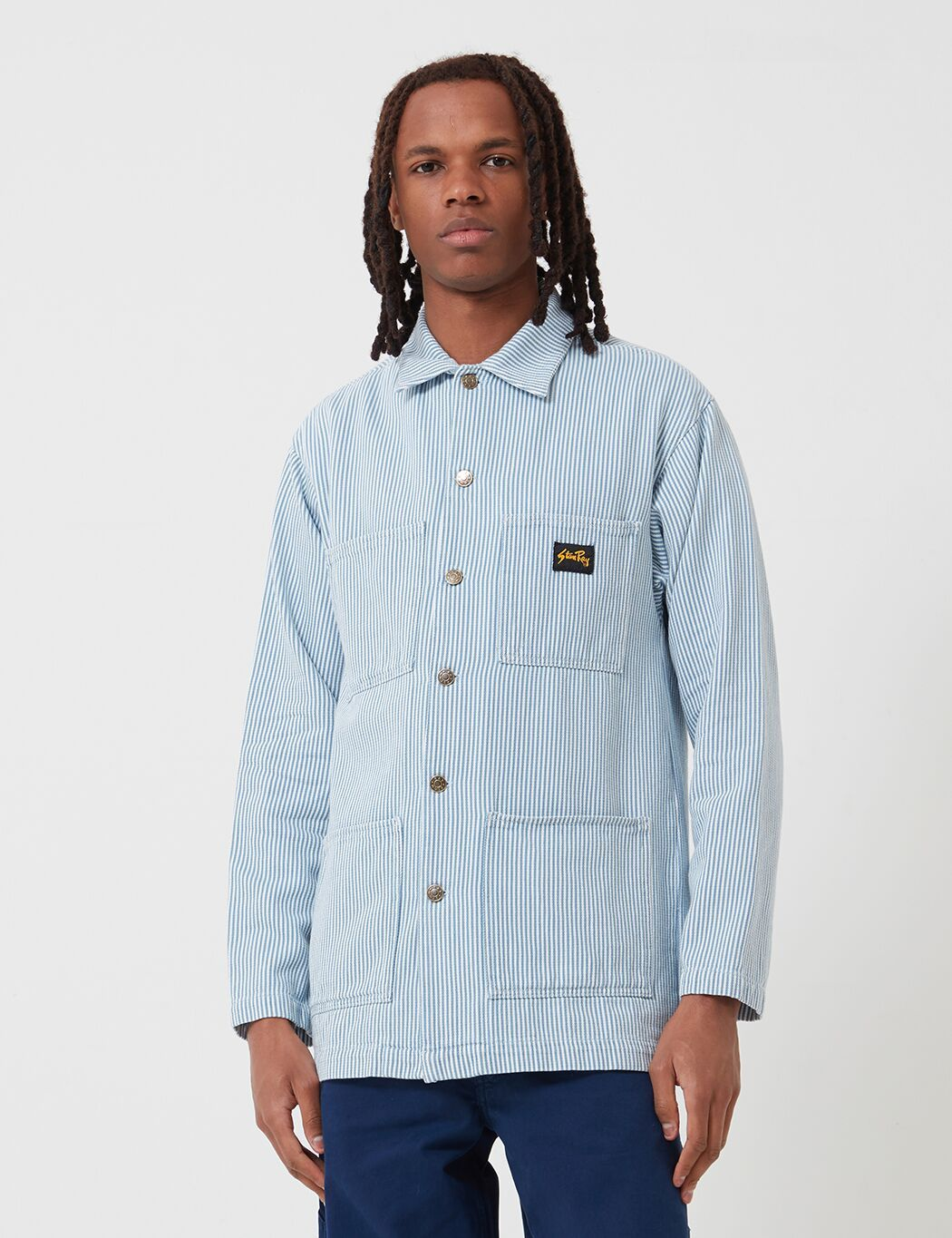 Stan Ray Shop-Jacke - Bleach Hickory