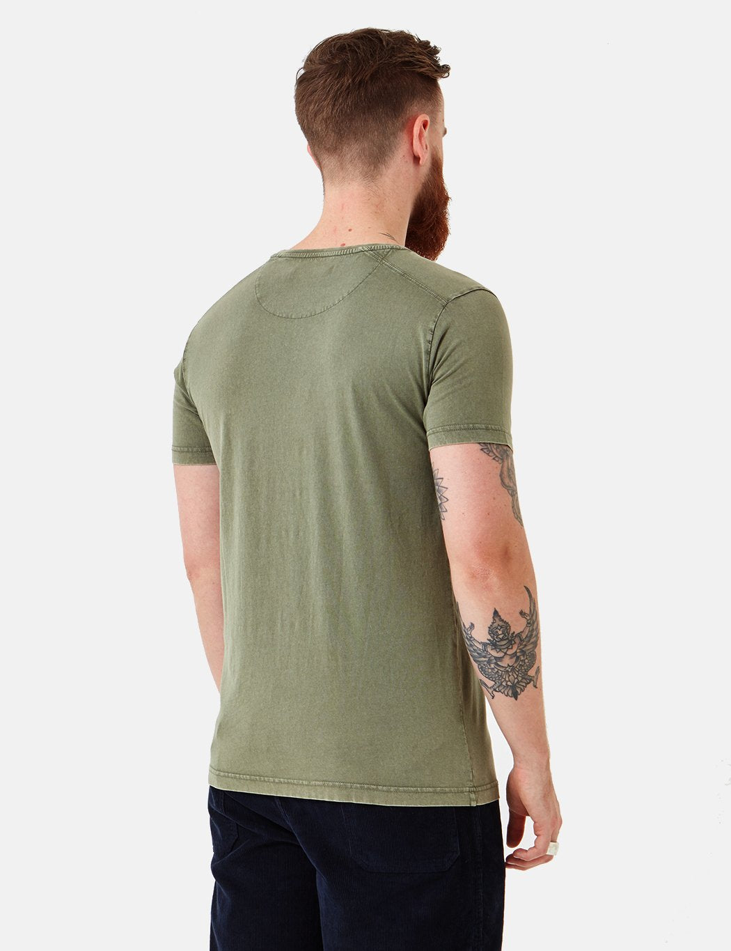 Suit Bart T-Shirt - Dark Green