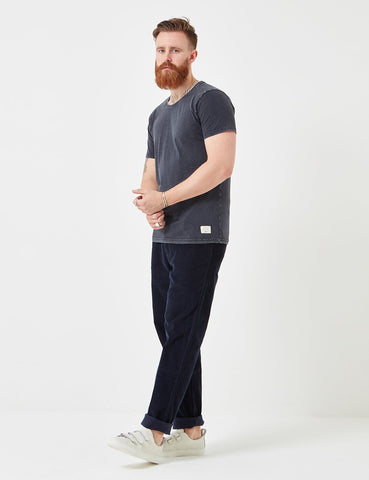 Suit Bart T-Shirt - Washed Navy