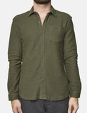 Suit Denmark Jeremy Terry Shirt - Dark Green