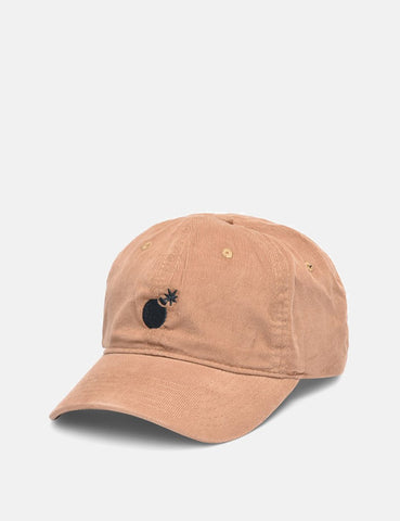 The Hundreds Solid Bomb Dad Cap - Khaki Brown