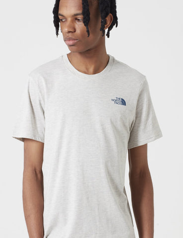 North Face Einfache Dome T-Shirt - TNF Oatmeal Heather