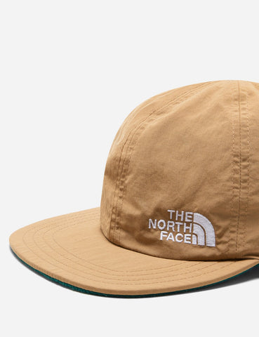 North Face Reversible Norm Hat (Fleece) - Braun / Grün