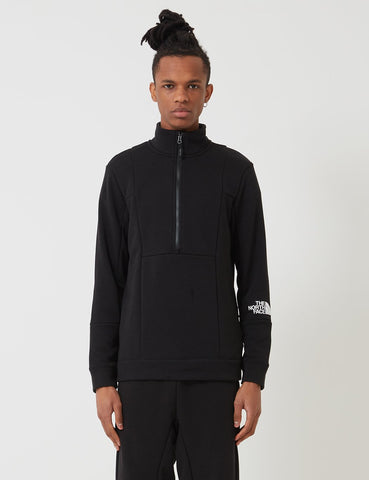 North Face Quarter Zip Sweatshirt - TNF Schwarz