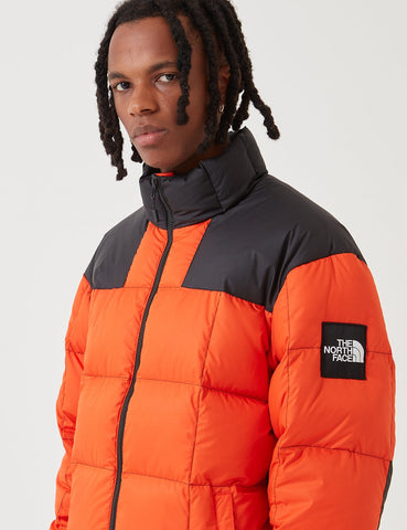 North Face Lhotse 'Black Label' Down Jacket - Tangerine Tango