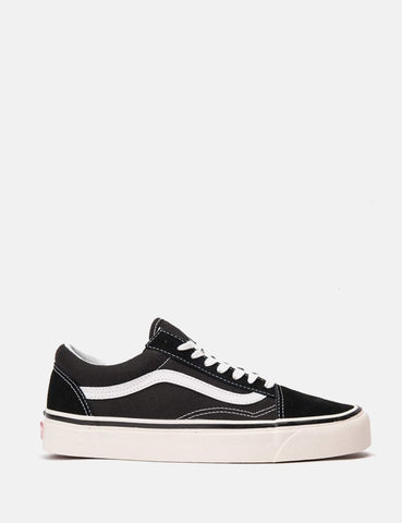 Vans Anaheim Old Skool 36 DX (Suede / Canvas) - Schwarz / True White