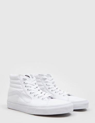 Vans SK8-Hallo Trainer (Canvas) - True White