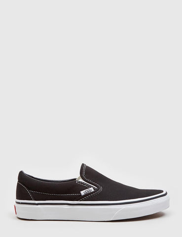Vans Classic Slip-On (Canvas) - Schwarz