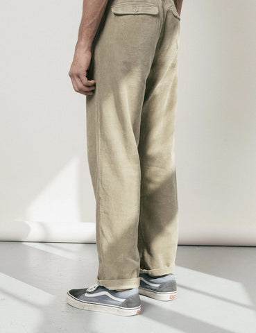 Satta Cord Hose - Taupe Brown