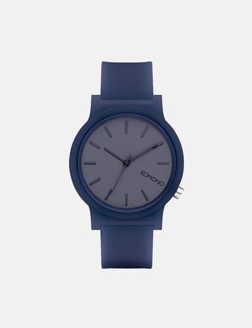 Komono Mono Watch - Navy Glow
