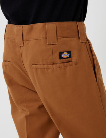 Dickies 872 Arbeitshose (Slim) - Brown-Ente