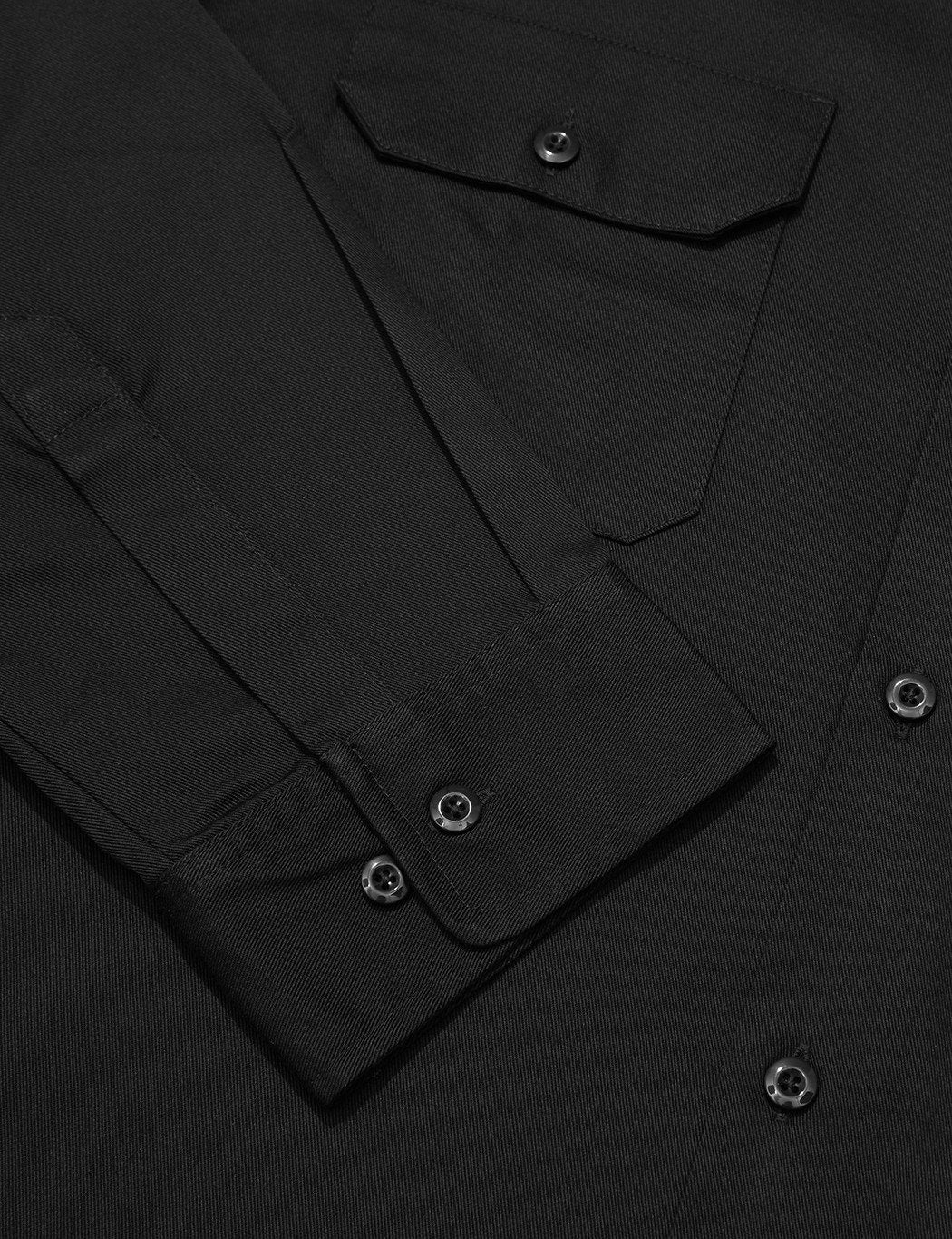 Dickies Work Shirt (Slim-Fit) - Schwarz