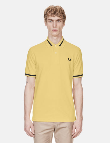 Fred Perry Single Tipped Polo Shirt - Ice Lemon