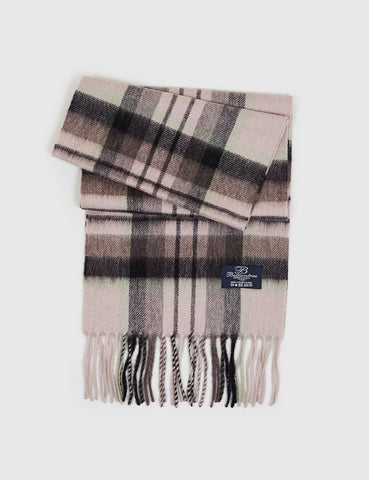 Clans of Scotland Ballantrae Lambs Wool Scarf - MacDuff Natural