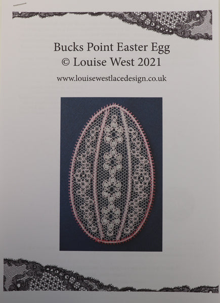 Bucks Point Easter Egg pattern sheet