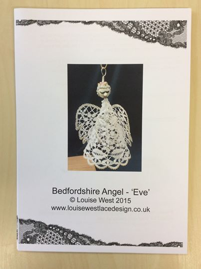 "Bedfordshire bobbin lace angel pattern ""Eve"""