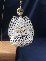 "Bedfordshire bobbin lace angel pattern ""Sue"""