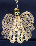 "Russian bobbin lace angel pattern ""Pat"""