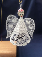 "Bucks Point Bobbin Lace angel pattern ""Lyn"""