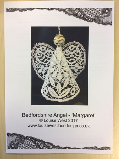 Bedfordshire bobbin lace pattern, Angel 'Margaret'