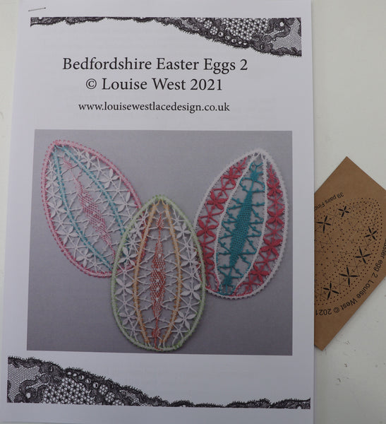 RTW Bedfordshire Easter Egg pattern  2 with thread