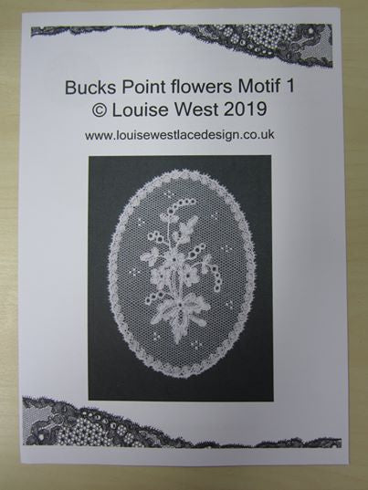 Bucks Point flower motif pattern