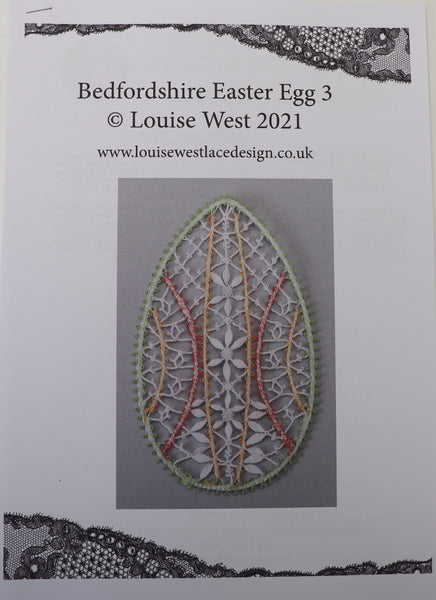 Bedfordshire Easter Egg pattern sheet 3
