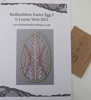RTW Bedfordshire Easter Egg pattern 3 with threads