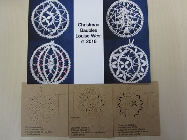 Christmas Baubles RTW patterns