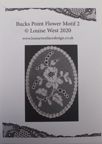Bucks flower motif 2 pattern