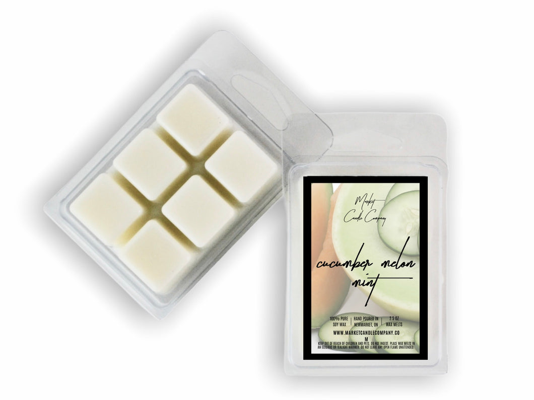 CUCUMBER MELON MINT SOY WAX MELT