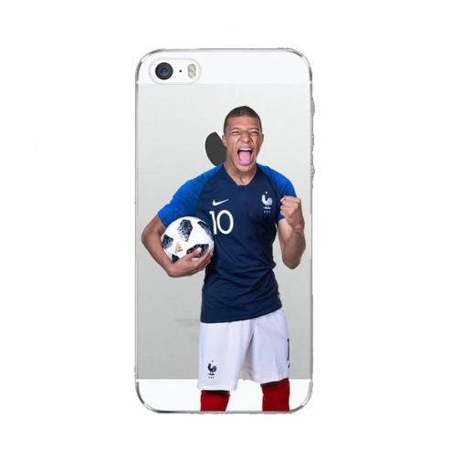 coque iphone 7 mbappe