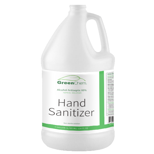 HAND SANITIZER (Liquid) | Active Ingredient is Ethyl Alcohol | FDA & WHO Certified | Hazmat - Buygreenchem