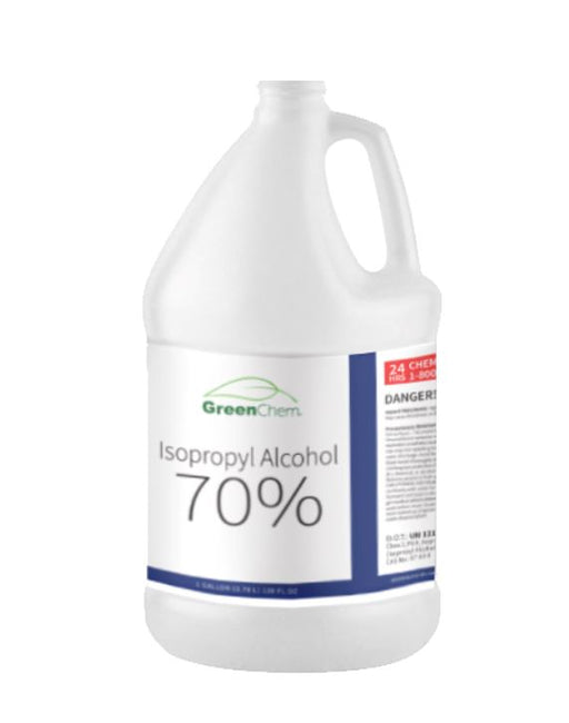 GreenChem Isopropyl Alcohol 70% (IPA) | Technical Grade Rubbing Alcohol | Bulk - Buygreenchem