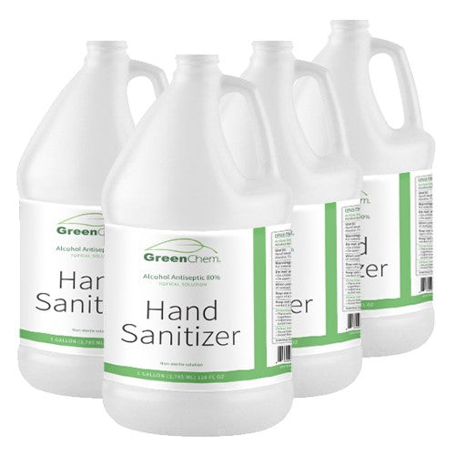 HAND SANITIZER (Liquid) | FDA & WHO Certified - Buygreenchem