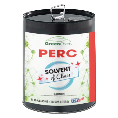 PERCHLOROETHYLENE (PERC) | Dry Cleaning Applications & Metalwork Degreaser | Hazmat | Free Shipping - Buygreenchem
