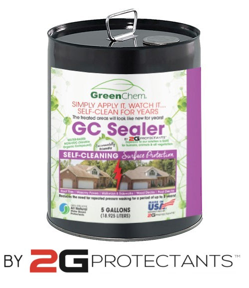 GC SEALER by 2G PROTECTANTS | Water-Based Self-Cleaning Concrete Cleaner - Buygreenchem