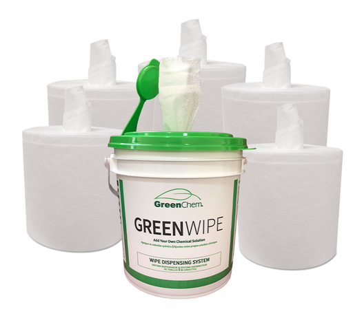 GreenWipe| DRY Wipe System for Solvents - Buygreenchem